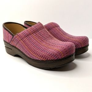 Dansko Professionals Clogs Stitched Pink 39